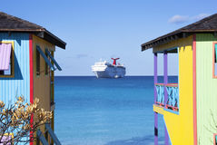 Colorful Caribbean Stock Image