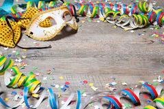 Colorful carnival background Stock Image