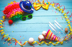 Colorful carnival background Royalty Free Stock Photo
