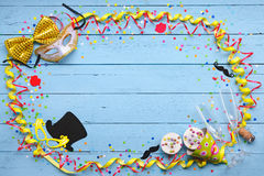 Colorful carnival background Stock Images