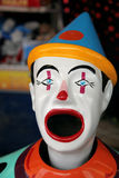 Colorful carnival clown Royalty Free Stock Image
