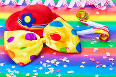 Colorful Carnival Decoration Royalty Free Stock Photography