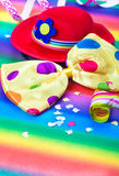 Colorful carnival decoration Stock Image