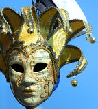 Colorful carnival mask for masquerade during the celebrations in Royalty Free Stock Images