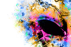 Colorful carnival mask Stock Images