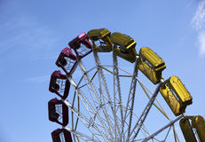 Colorful carnival ride Royalty Free Stock Images