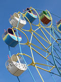 Colorful carousel. Royalty Free Stock Images