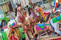 Colorful carousel Stock Photo
