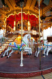 Colorful Carousel in Paris Royalty Free Stock Images