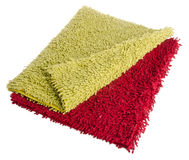 Colorful carpet or doormat for cleaning feet. Carpet or doormat on background Royalty Free Stock Photos