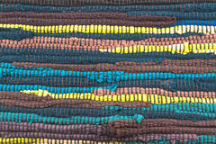 Colorful carpet texture Royalty Free Stock Photos
