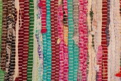 Free Colorful Carpet Texture. Background Of Andalusian Carpet. Jarapa. Royalty Free Stock Images - 101935699