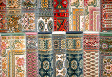 Colorful carpets Stock Image
