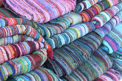Colorful carpets Royalty Free Stock Photos