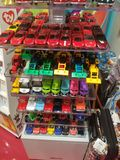 Colorful cars stock image