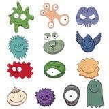 Colorful cartoon monster,  illustration Stock Photo