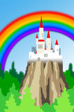 Colorful castle Royalty Free Stock Images