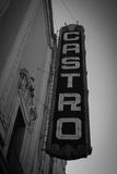Colorful Castro. Ironically I felt this picture looked retro in Black and White even though the Castro is probably the most colorful place Stock Images