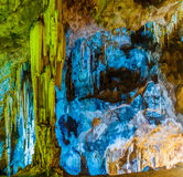 Colorful Cave Royalty Free Stock Image