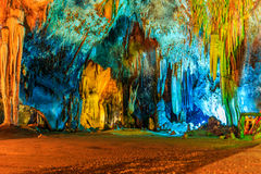 Colorful Cave Royalty Free Stock Photo