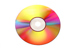 Colorful CD Stock Image
