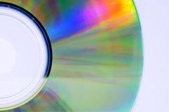 Colorful cd disk Royalty Free Stock Images