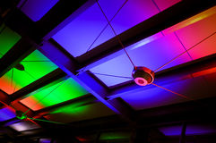 Colorful Ceiling Pattern. Architecture abstract Royalty Free Stock Photos
