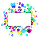 Colorful celebration background with confetti. Colorful abstract background Royalty Free Stock Photography