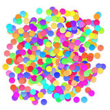 Colorful celebration background with confetti. Vector Royalty Free Stock Image