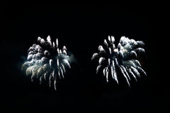 Colorful celebration fireworks. Can be used as background, as banner or as general illustration Royalty Free Stock Image