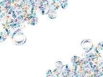 Colorful celebration ribbon royalty free stock photography
