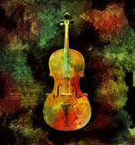 Colorful Cello Stock Photos