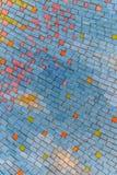 Colorful ceramic background Stock Image