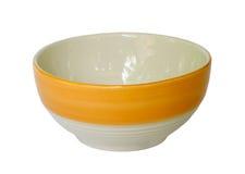 Colorful ceramic bowl. Stock Image