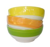 Colorful ceramic bowl. Stock Images