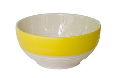 Colorful ceramic bowl. Stock Photography