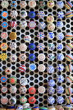 Colorful ceramic caps royalty free stock images