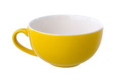 Colorful ceramic cup Royalty Free Stock Image