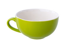 Colorful ceramic cup Stock Photos