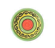 Colorful ceramic dish Stock Photo