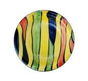 Colorful ceramic dish Stock Photos