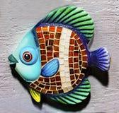 Colorful Ceramic Fish Souvenir San Antonio Texas