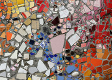 Colorful Ceramic Mosaic tile Stock Photo