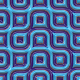 Colorful ceramic patterns Royalty Free Stock Photography