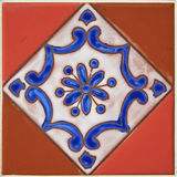 Colorful Ceramic Tile Design Stock Photos