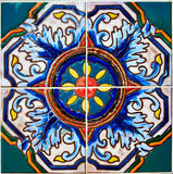 Colorful Ceramic Tile Design Stock Images