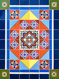 Colorful Ceramic Tile Design Royalty Free Stock Images