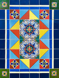 Colorful Ceramic Tile Design Royalty Free Stock Photography