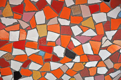Colorful ceramic tile patterns background. Stock Photos