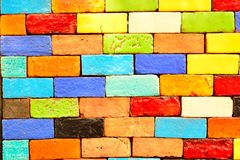 Colorful Ceramic Tile Patterns Background. Royalty Free Stock Photos